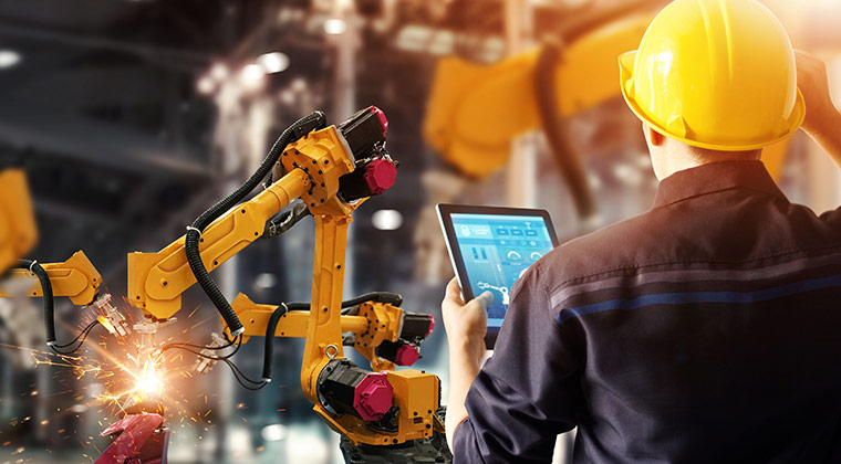 Get data on your factory equipment's status