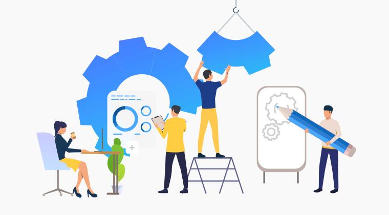 "As a global partner with Cybozu, we provide the cloud-based business improvement platform ""Kintone"""